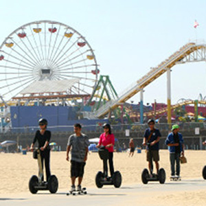 segway tour near the santa monica pier