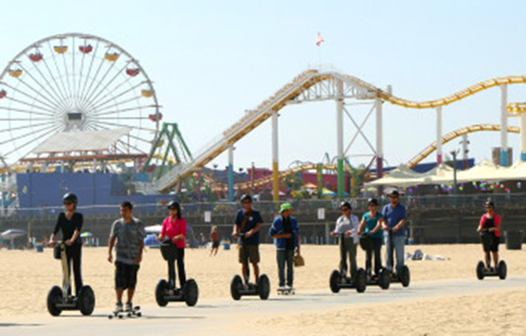 segway tour near santa monica pier