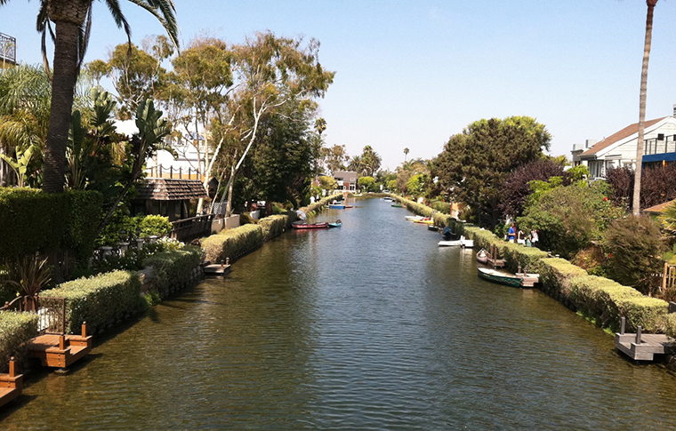 the canals in santa monica