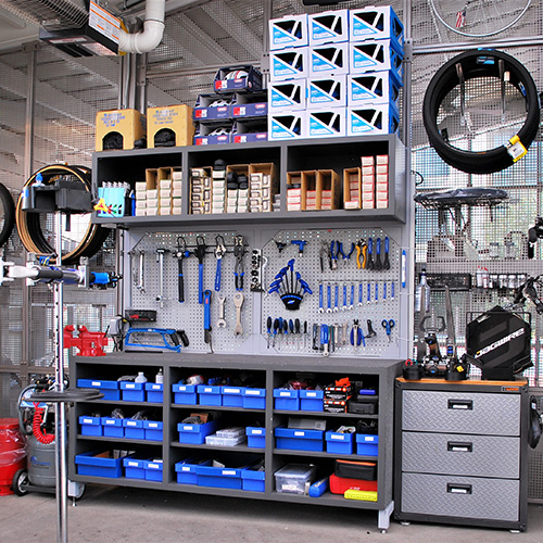 the bike center tool station